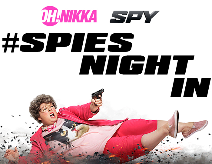 Spy Movie #SpiesNightIn