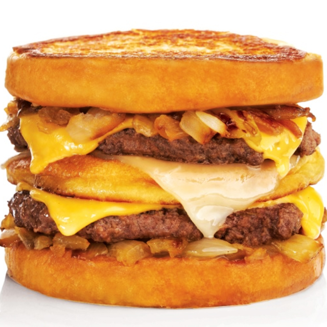 BurgerFi Midtown Grilled Cheese Melt Burger