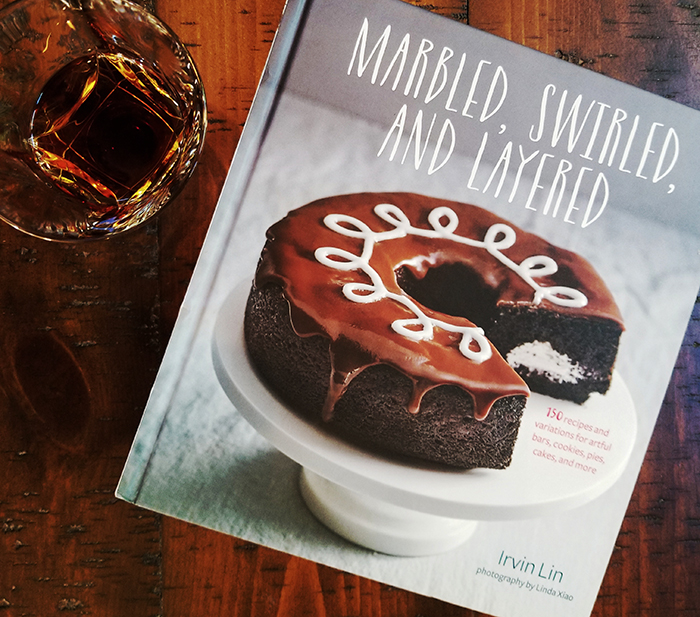 Marbled Swirled and Layered cookbook Four Roses Bourbon National Ice Cream Sandwich Day