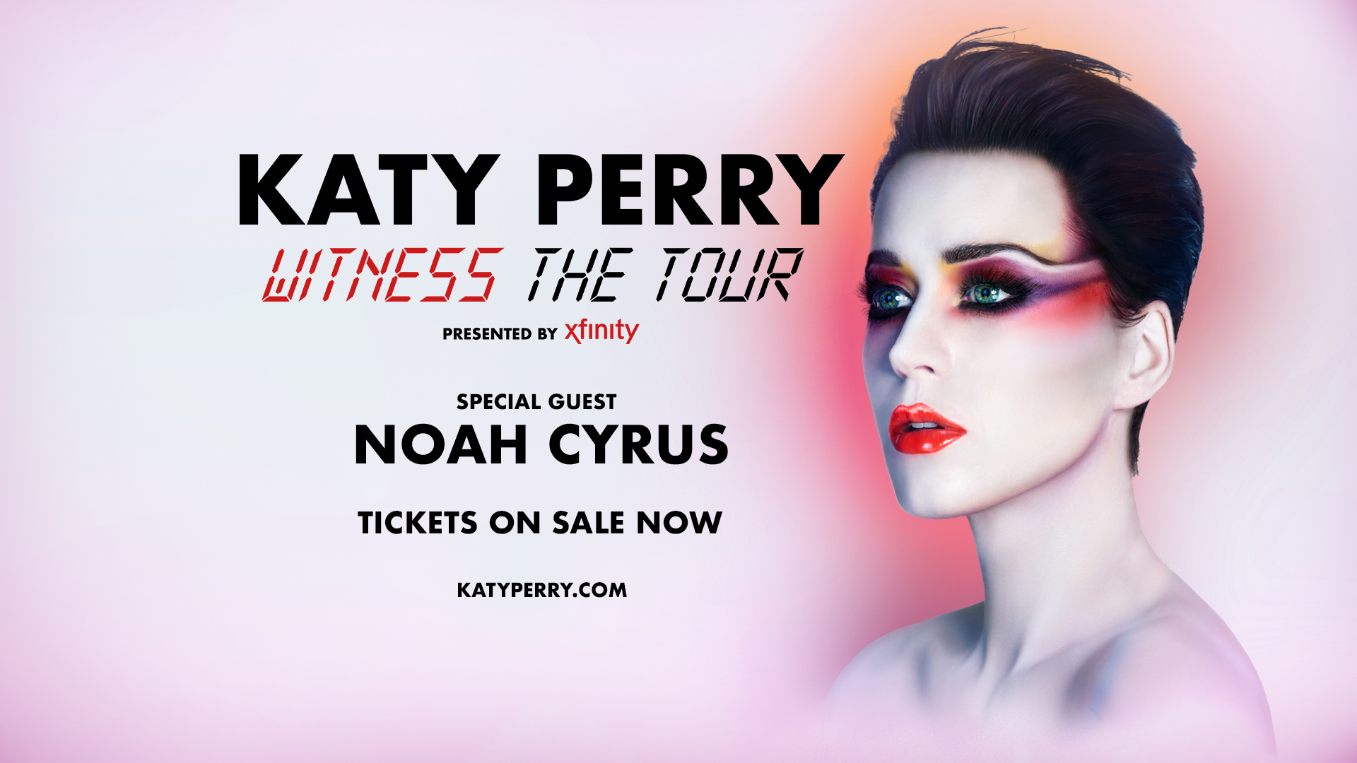 Xfinity Katy Perry Witness Tour